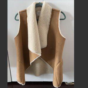 Velvet by Graham & Spencer Faux Shearling Vest
